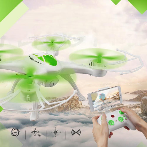 Mini Drone JJRC H29WH RC Quadcopter 2.4G 4CH 6-Axis Gyro With 0.4MP WIFI Camera Drone with camera RC toys for children - http://www.next-generation.store