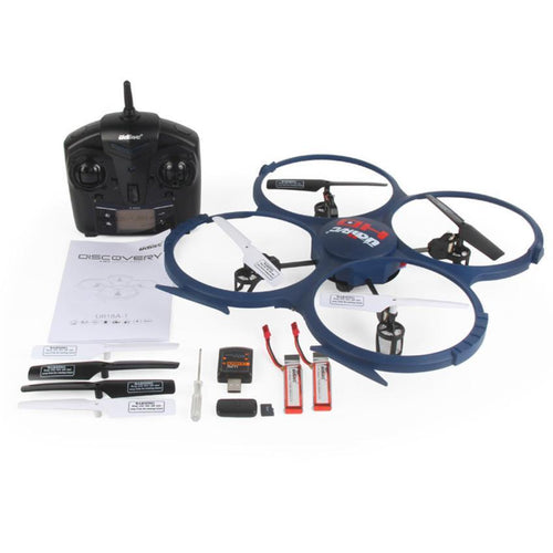 NEW mini Drone UDI U818A-1 2.4GHz 4 CH 6 Axis Gyro Headless RC Quadcopter Drone with HD Camera - http://www.next-generation.store