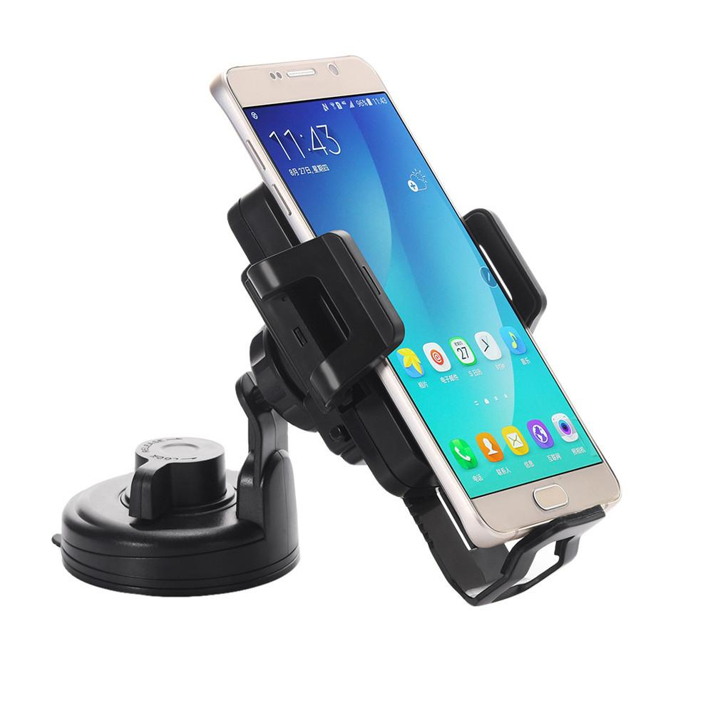Universal Qi Wireless Car Charger 5V 1.5A for Mobile Phone  Wireless Charge Transmitter Holder for Samsung Galaxy S7 / S6 BK#30 - http://www.next-generation.store
