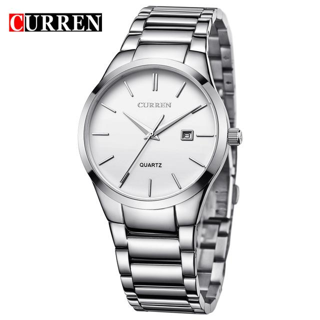 Curren Luxury Brand Men Fashion Business Calendar Watch Men Water Resistant - http://www.next-generation.store