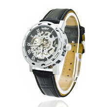 Fashion New Men Mechanical watch Skeleton Stainless Steel Army Wrist Watch - http://www.next-generation.store