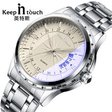Noctilucent Casual Man Watches Retro Relogio Masculino Luminous Steel Band Calendar Watch - http://www.next-generation.store