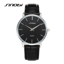 Sinobi Ultra Slim Sport Leather Woman Wrist Best Quartz WatchWomen's 2016 Brand Luxury - Next-Genration.Store