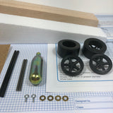 Basswood Dragster Kit (Co2) - Kits - Activity Based Supplies