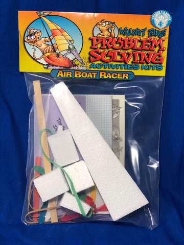 Air Boat Racer Kit - Problem Solving - Activity Based Supplies