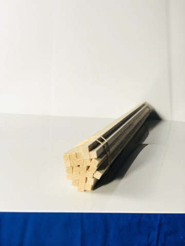 "Balsa Square Sticks 1/4""x1/4""x24"" - Miscelanious - Activity Based Supplies"