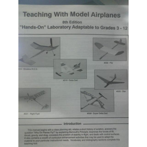 Booklet, Teaching w/ Model Airplanes