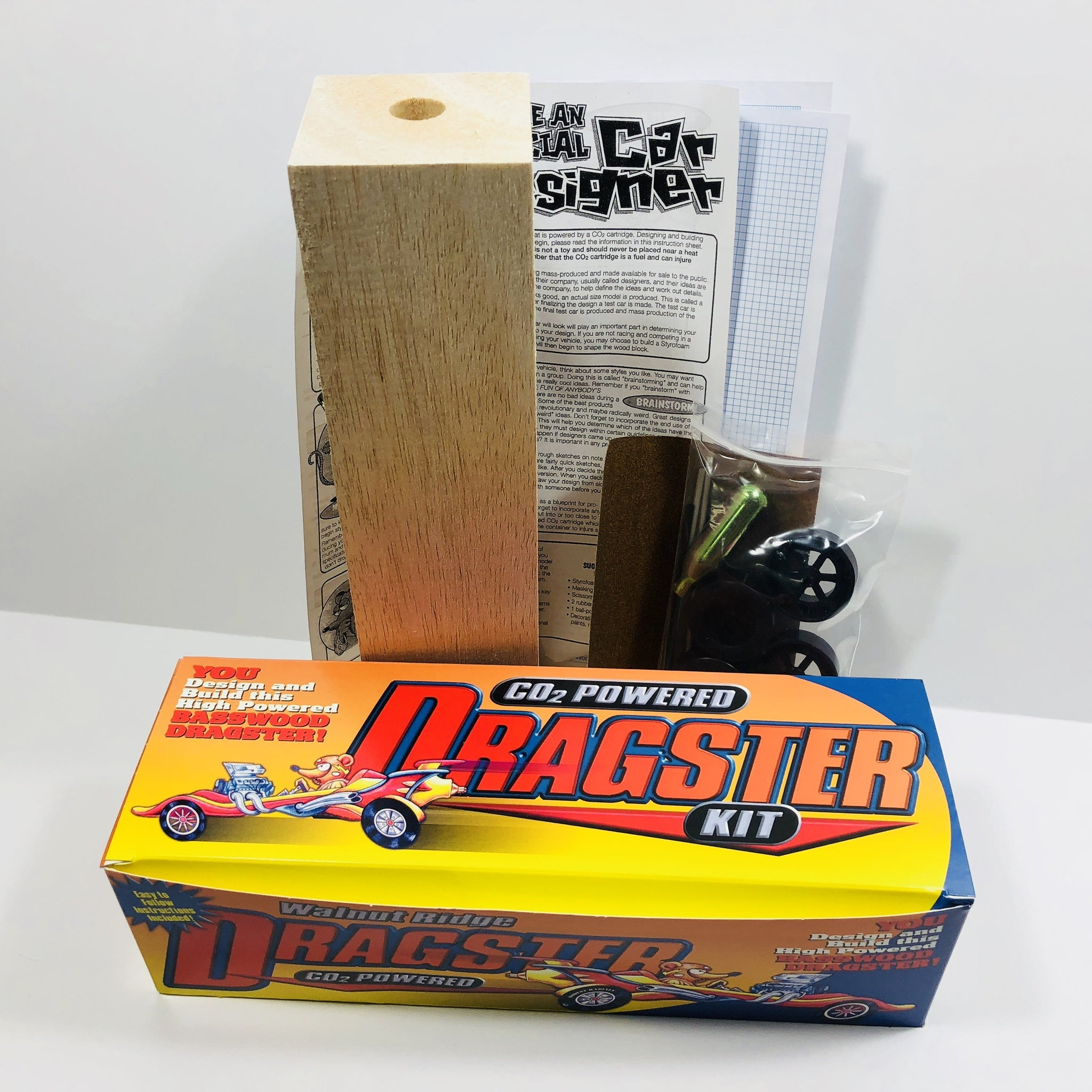 Balsa Truck & Van Dragster Kit (Co2)