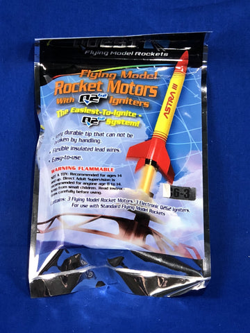 Estes C6-3 Engine  (3 Pack) Rockets