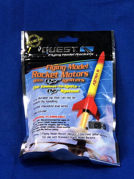 Estes C6-5 Engine (3 Pack) - Rockets - Activity Based Supplies