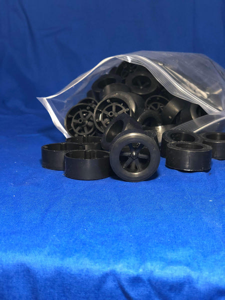 Rear Wheels for Co2 Dragsters, 100-Pk - Co2 Dragster Product Line - Activity Based Supplies