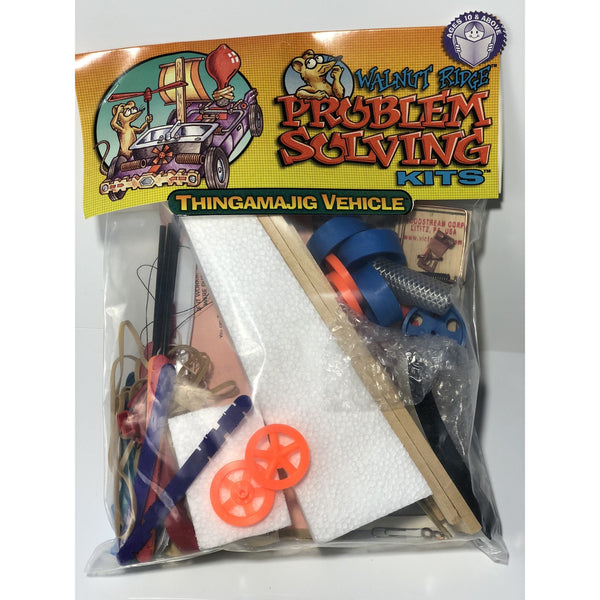 Thingamajig Vehicle Problem Solving Stem Kits (Class Pack of 12 kits) - Problem Solving - Activity Based Supplies