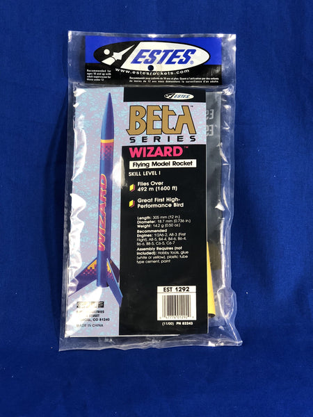 Wizard Rocket - Rockets - Activity Based Supplies