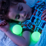 glowing nightlight with removable balls
