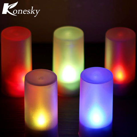 Multicolor LED Candle Light