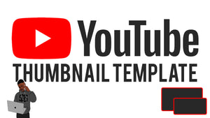 How Create a Youtube Thumbnail Using Photoshop (Free Template)