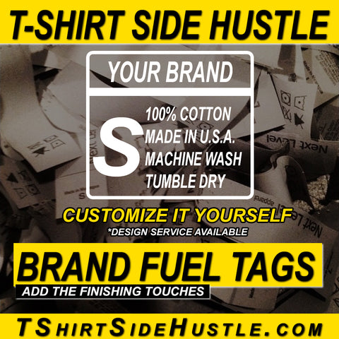 Brand Fuel Clothing Tags