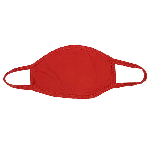 Red Cotton Mask