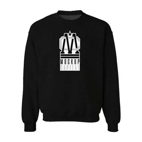 Crew Neck Sweatshirt Mockup (Good)