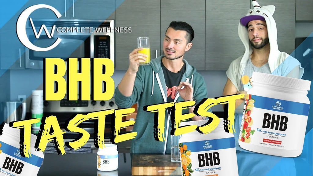 Exogenous Ketones or BHBs Explained and a Taste Test