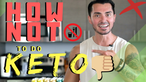 ❌DO NOT ❌Do Keto Like This | Keto Thoughts