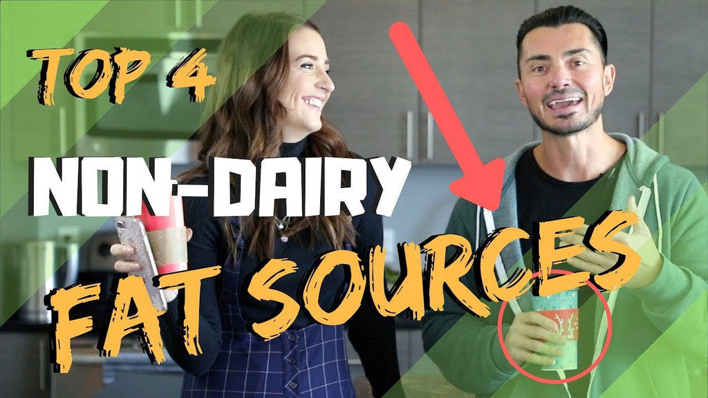 The 4 BEST Non-Dairy FAT Sources 🥑