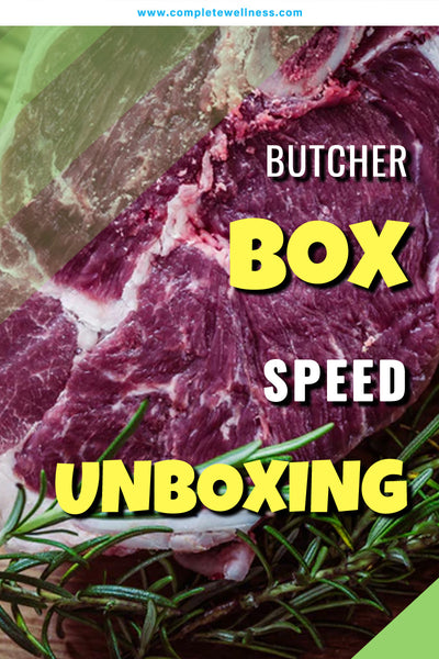 Butcher Box SPEED UNBOXING (2018)