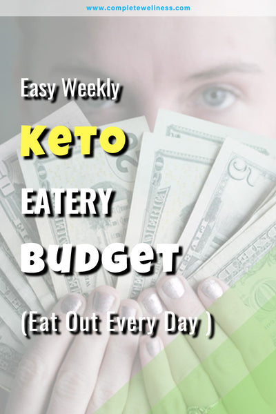 EASY Weekly Keto Eatery Budget (Eat Out Every Day in 2018)