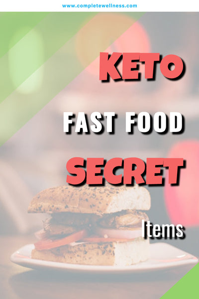 KETO Fast Food SECRET Items