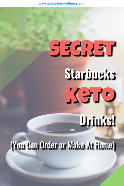 SECRET Starbucks Keto Drinks! (You Can Order or Make At Home)