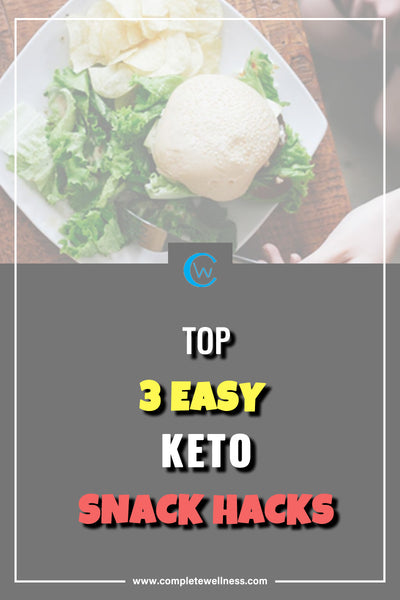 Top 3 EASY Keto Snack Hacks