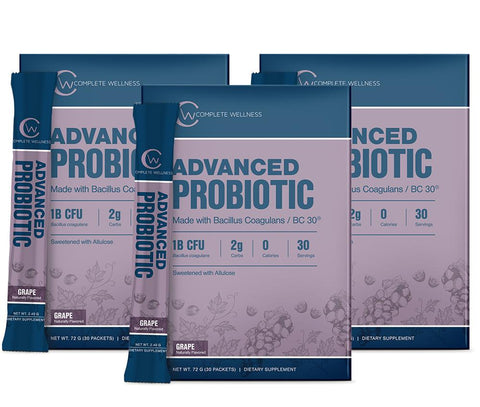 Image of Complete Wellness - Advanced Probiotics (3 Pack)