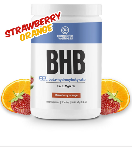 July Challenge Exclusive Combo - Strawberry Orange BHB's + FREE Shaker Bottle
