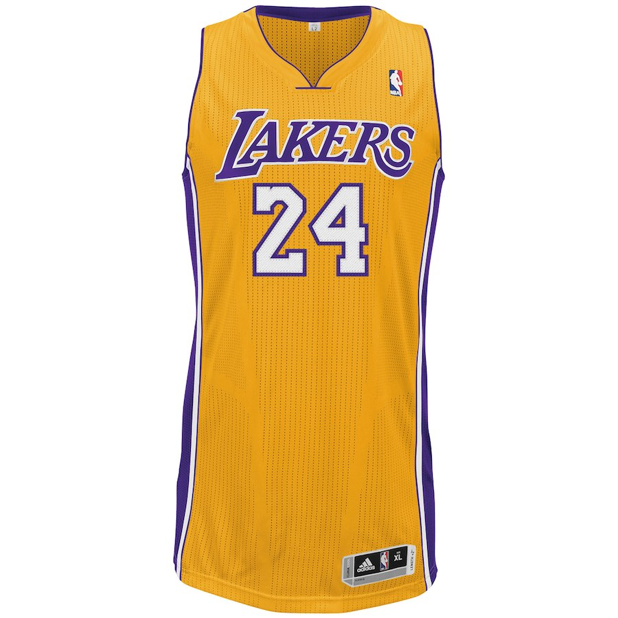 Men S Los Angeles Lakers Kobe Bryant Adidas Gold Home Authentic Climac True 2 Sports