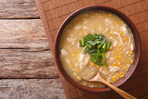 NEW - Chinese corn and chicken soup (GF) (DF) (NF)