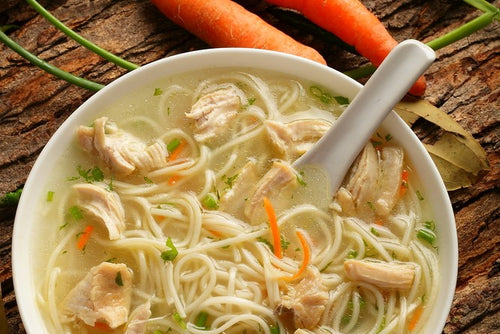 Chicken noodle soup (GF) (DF)