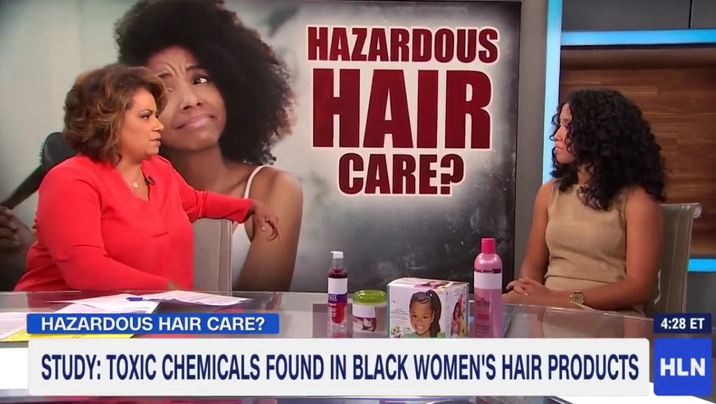 [Video] Toxic Chemicals Found in Black Women's Hair Products