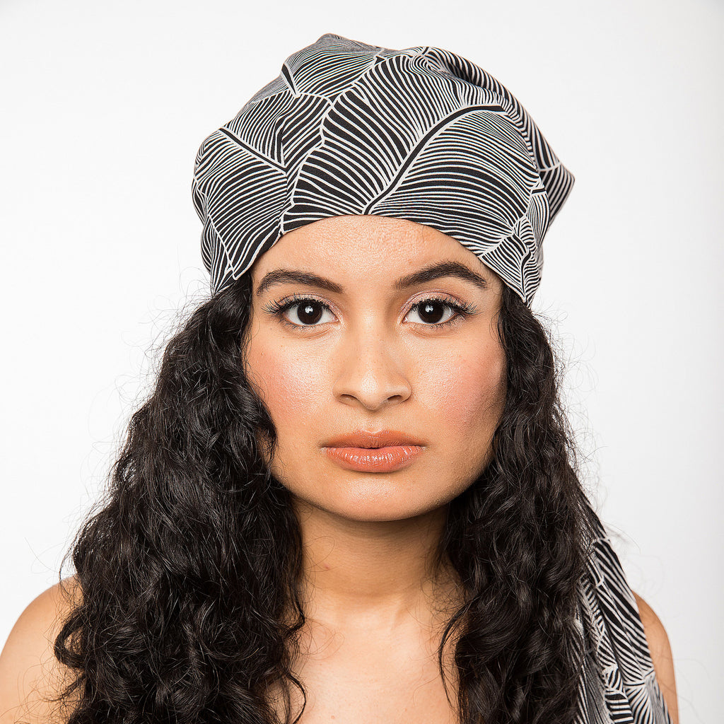 Satin-Lined Head Scarf | Women's Luxury Head Scarf | Apollina