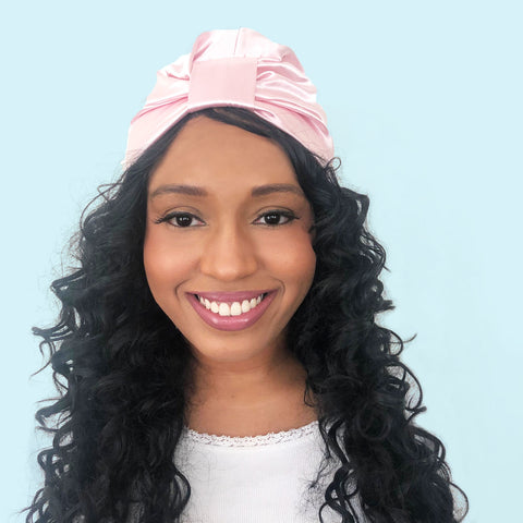 Satin Pre-Tied Sleep Turban | Imani