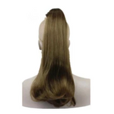 Claw Hair Piece Pony Long Straight 18""