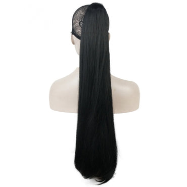 Claw Hair Piece Pony Extra Long Straight 26""