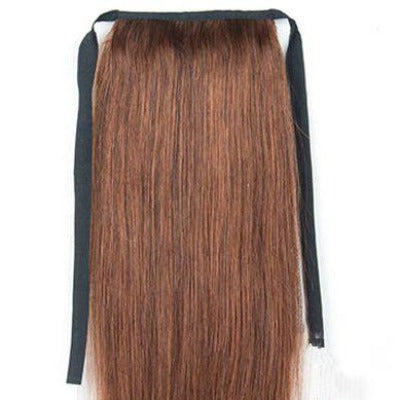"Allure Remy Human Hair Ribbon Ponytail 16"" 100g"