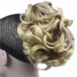 Claw Curly Pony/Bun 4.5 inches