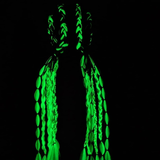 "Synthetic Braiding Hair 100g 24"" Glow In The Dark"