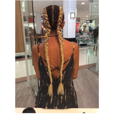 Online Service Sale - Dutch Braids With Extensions