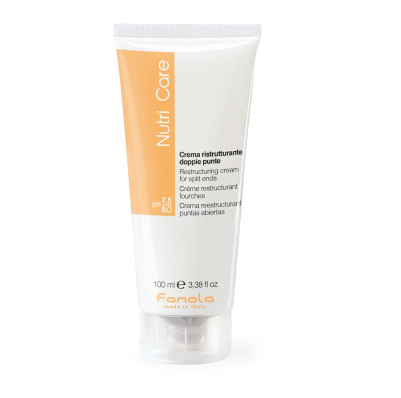 Fanola Nutricare Restructuring Cream For Split Ends 100ml