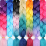 "Synthetic Braiding Hair 100g 24"" Ombre"