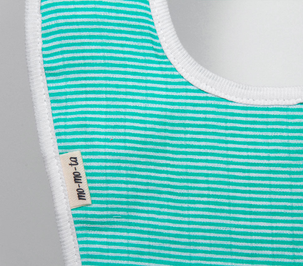 Mint Green Bib