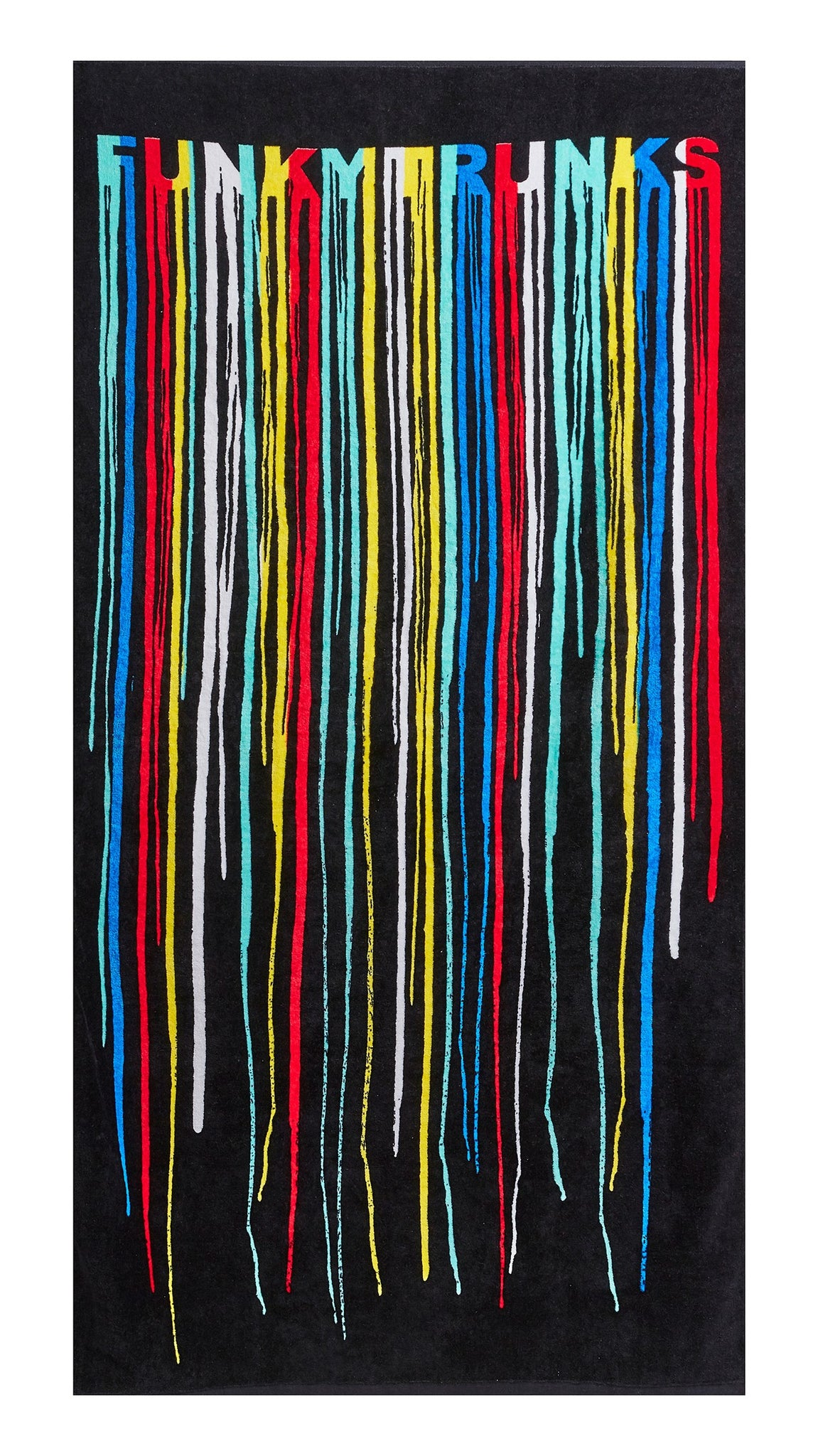 Funky Trunks Large Cotton Towel Drip Funk