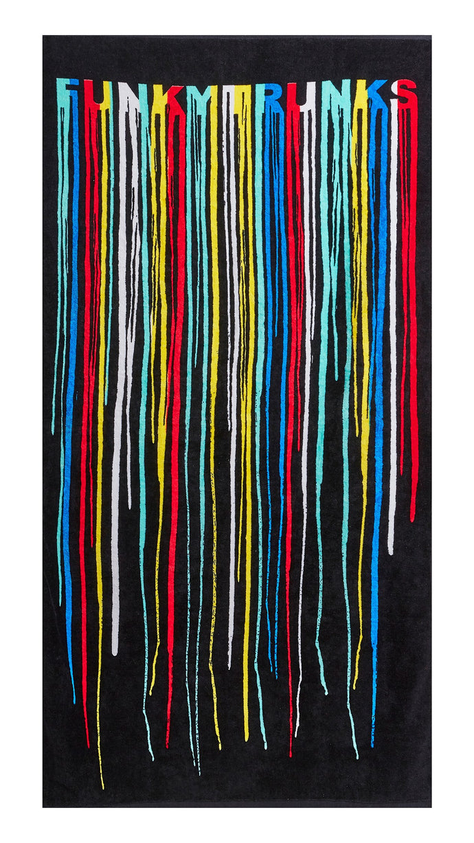 Funky Trunks Large Cotton Towel<br/>Drip Funk